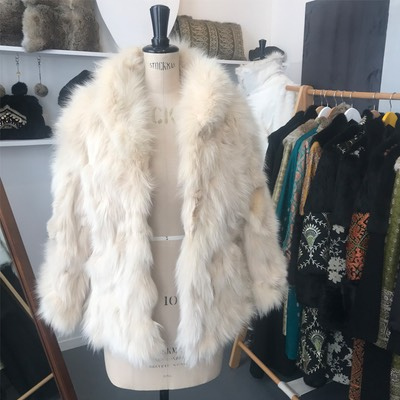 Lapin ReVintage remodelled fox fur